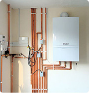 gas central heating installation london